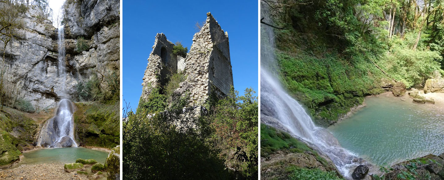 Cascade Quinquenouille
